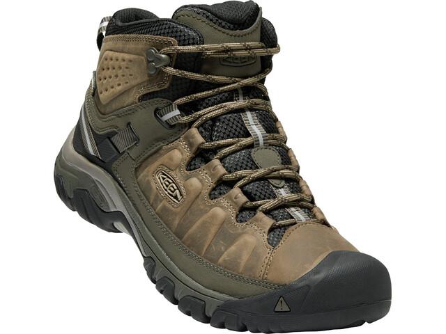 Keen Targhee III Mid WP Shoes Herr Bungee Cord/Black